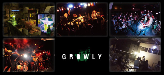 GROWLY ライブの様子