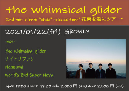 the whimsical glider 2nd mini album