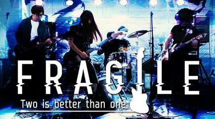 fragile『kill me back』release party